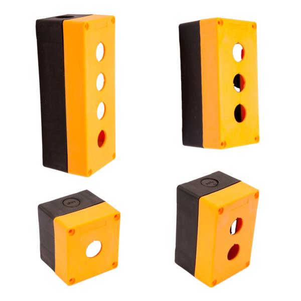 Caja Plástica CAMSCO para Elementos 22MM