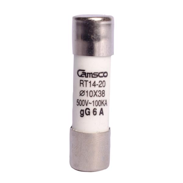 Fusible Cilindrico CAMSCO 10x38 mm