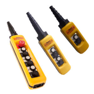 Botoneras CAMSCO de Control (Amarillas)