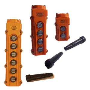Botoneras CAMSCO Colgantes de fuerza y Control (Naranja)