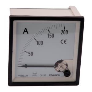 Amperimetros CAMSCO para Corriente Directa 96X96 mm