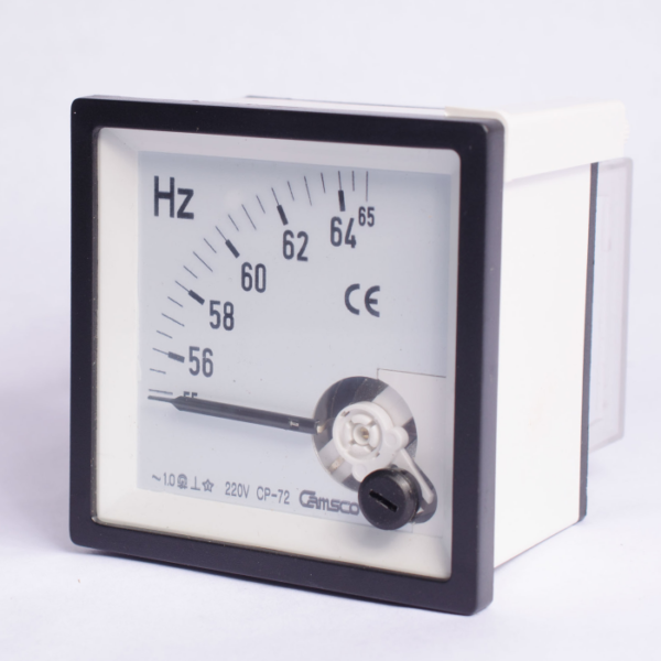 Frecuencímetros CAMSCO de aguja 96x96 mm
