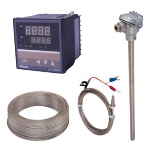 Controles de Temperatura, Termocuplas, Cables