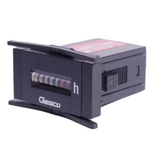 Horometro CAMSCO Rectangular Negro