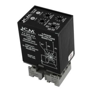 ICM-408_Supervisor de Voltaje Trifásico completo enchufable_Voltaje_ 190-480 VCA